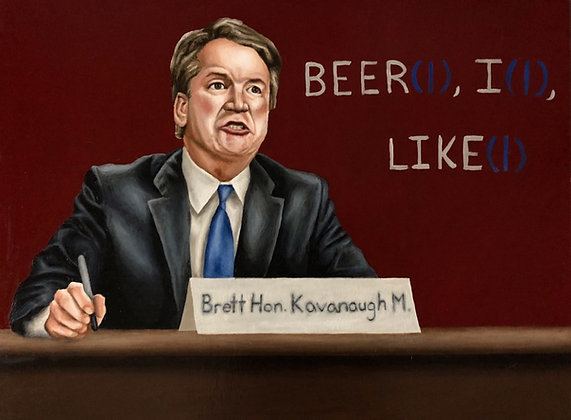 "Print of ""Honorable"" Kavanaugh"