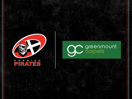 Continuing our sponsorship with the Cornish Pirates!