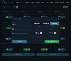 Aquarino|LocalManager|Power Config