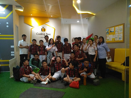 coding bee school serpong