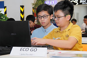 students coding program