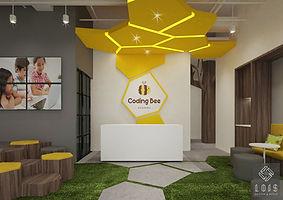 codin bee academy interior