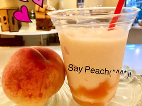 Season in peach! ②