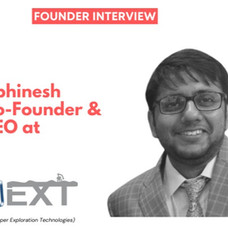 Interview with Abhinesh : Co-Founder and CEO of BigDipper Exploration Technologies