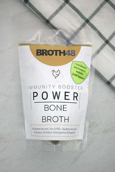 Chicken Bone Broth 鸡骨胶汤 250ml/ 500ml