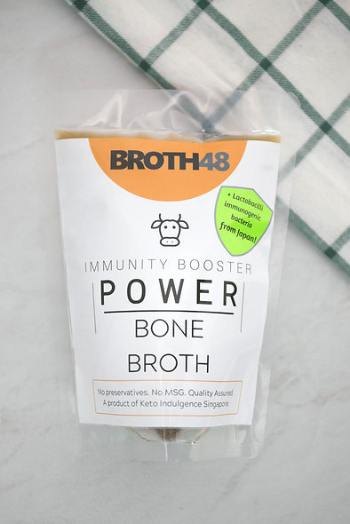 Beef Bone Broth  牛骨胶汤 250ml/ 500ml