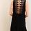 Thumbnail: BACK LACE BLACK DRESS