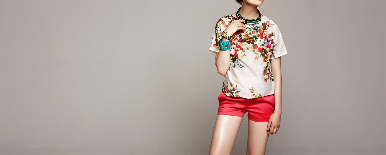 Unique prints women's apparel