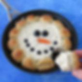 skillet-dip-snowman-christmas-appetizer-
