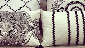 Classy Black & White Cushions