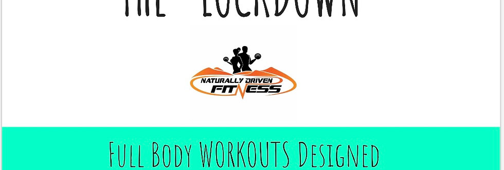 """The """"LockDown"""" Fitness E-Book Full Body Workouts"""