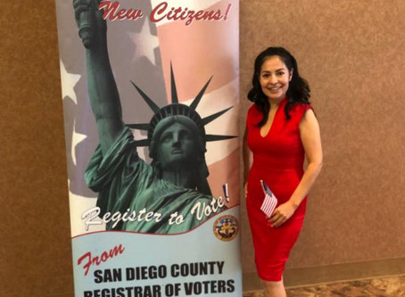 New Citizen Excited for Civic Engagement