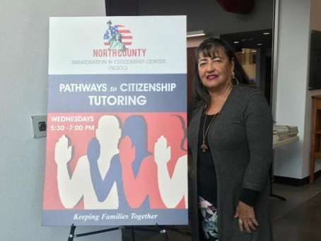 Tutor Finds Inspiration in Stories of Citizenship