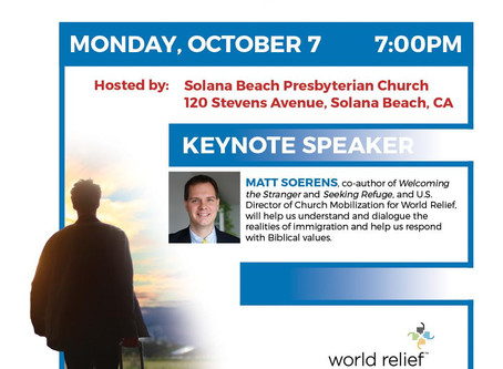 Come Learn from Matthew Soerens