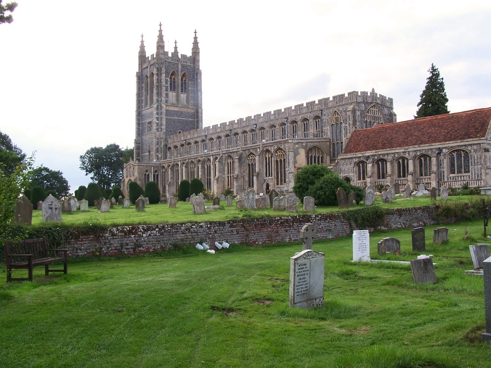 St Peters & St Pauls Church Lavenham