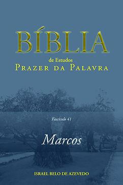 Bíblia de Estudo Prazer da Palavra: Marcos