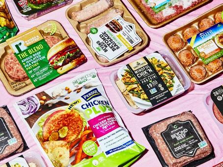 """La """"carne vegetal"""", una innovación que gana adeptos"""