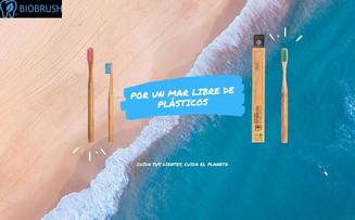 Cepillos de dientes amigos del medioambiente