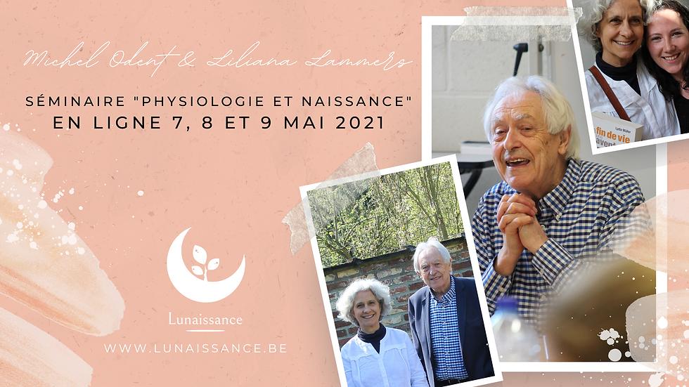 """Séminaire """"Physiologie et Naissance"""" en ligne"""