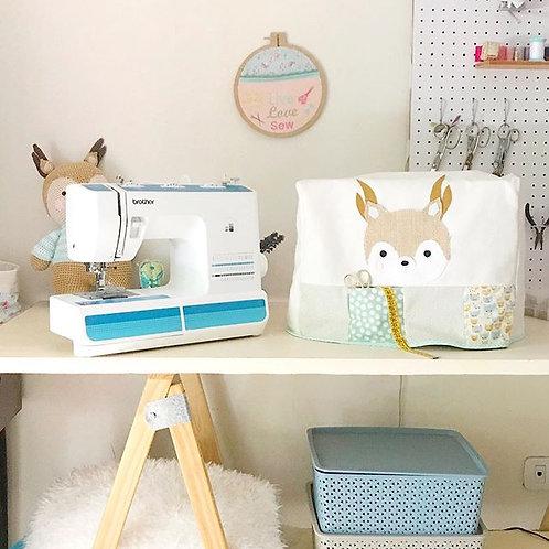 Molde funda máquina de coser