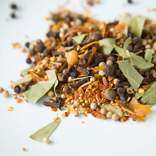Spicy Pickling Spice Blend | Charleston Spice Company | organic hand-blended