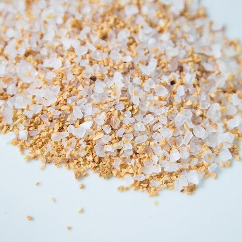 Roasted Garlic Sea Salt | Charleston Spice Company | organic hand-blended