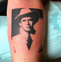 Hank Williams Portrait