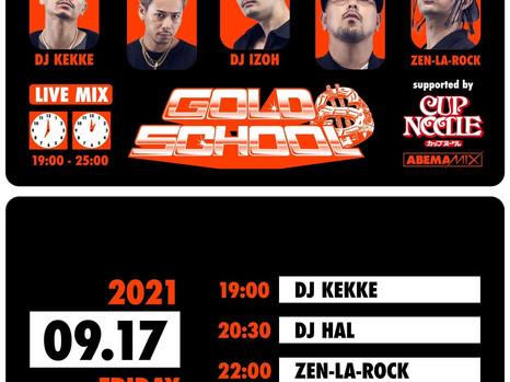 [Media] 9/17 fri.  DJ IZOH & D.D.S on AbemaMIX