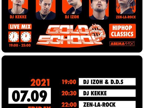 [Media] 7/9 DJ IZOH on AbemaMIX