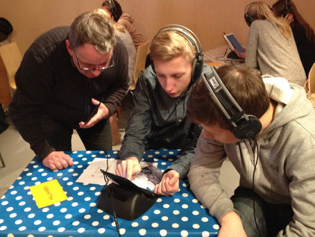 User generated soundscapes activating museum visitors