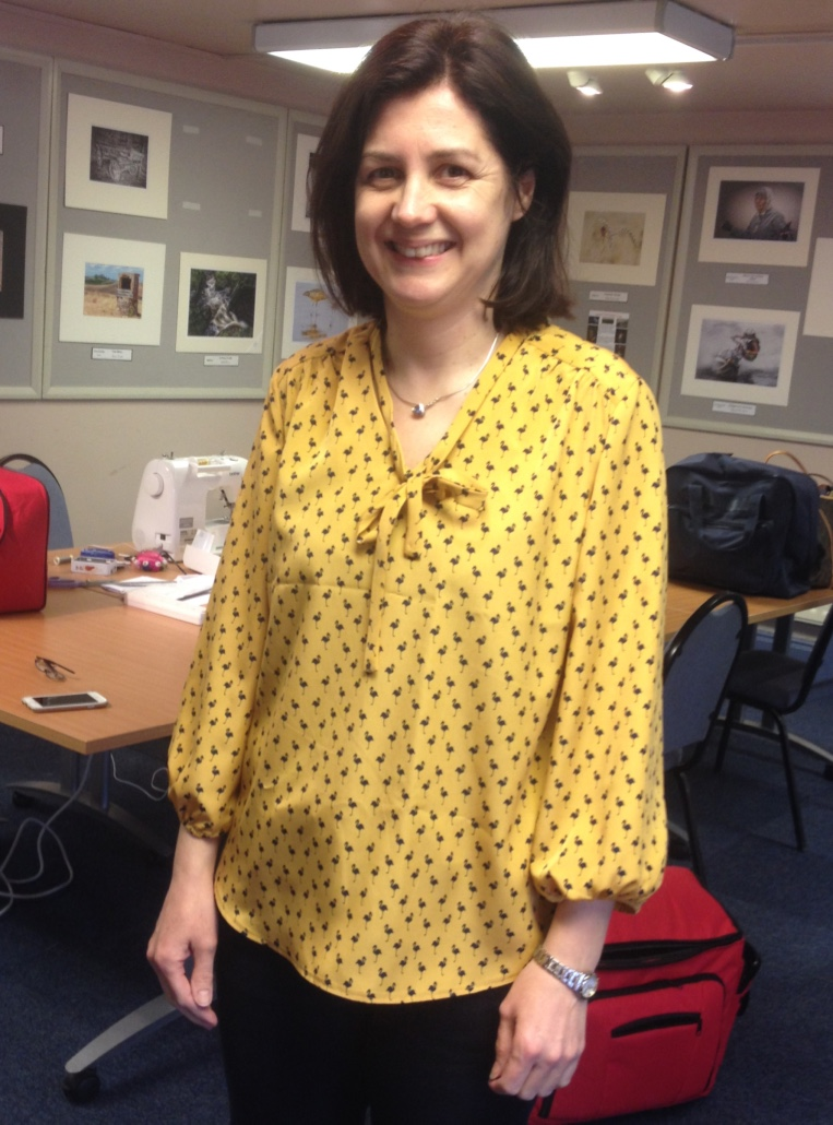Love Dressmaking Yellow Top