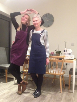 Love Dressmaking Pinafore Dress