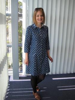 Love Dressmaking Blue Dress