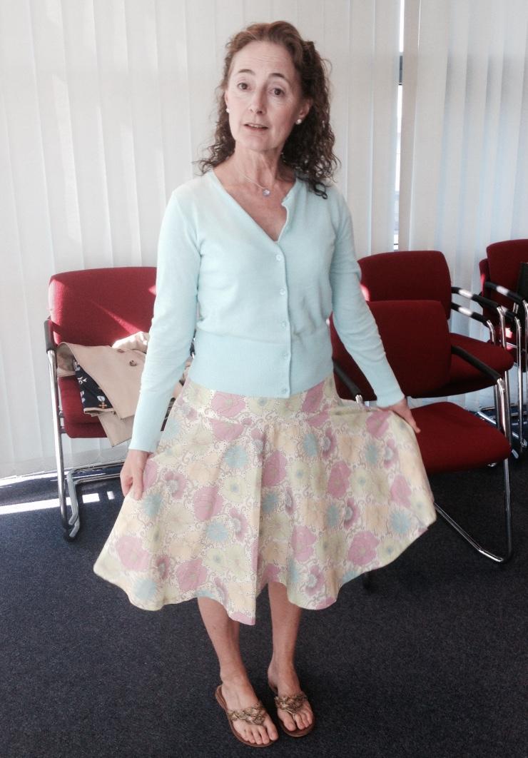 Love Dressmaking handmade skirt