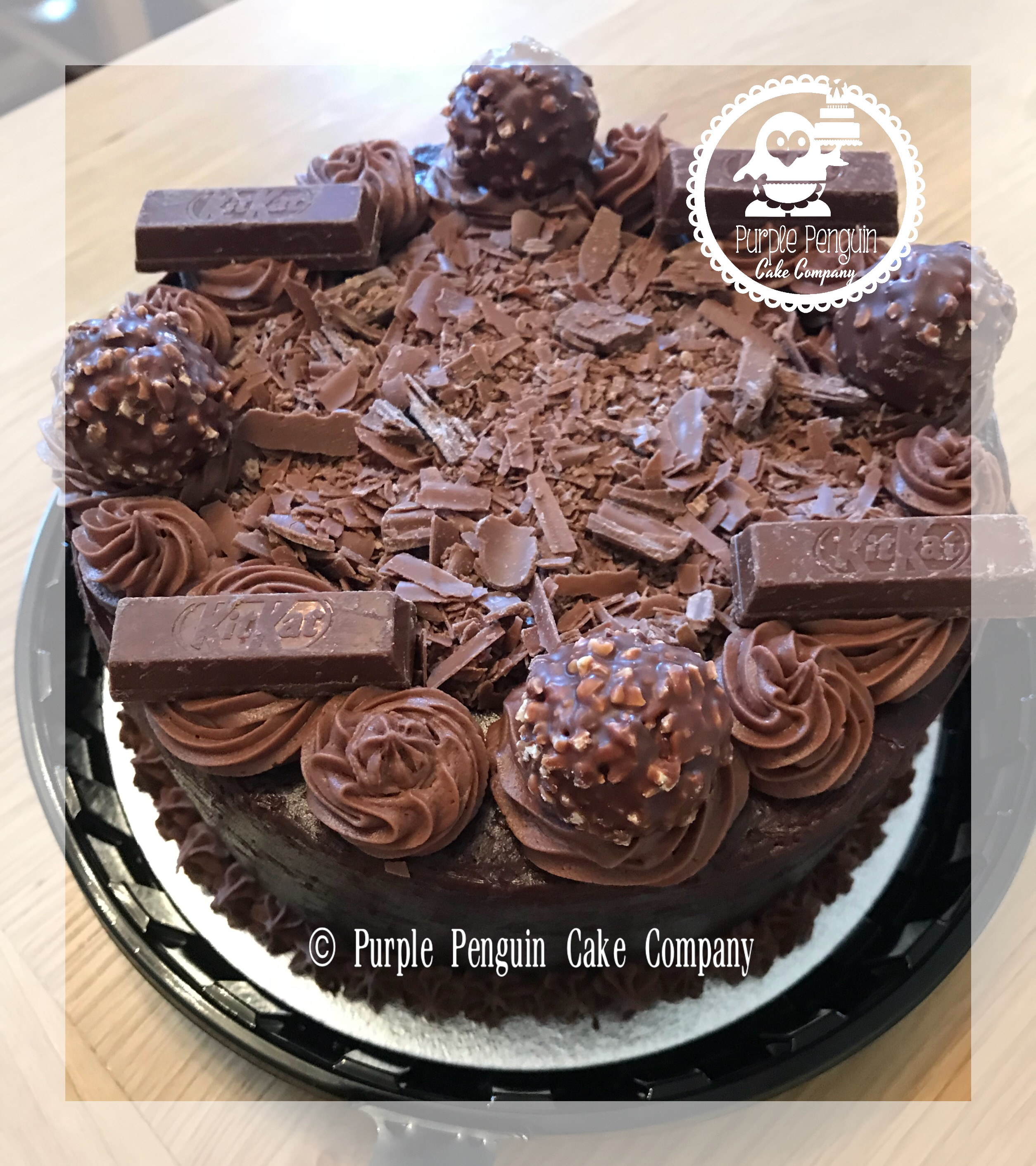 "7"" Chocolate Indulgent Cake - £17.50"