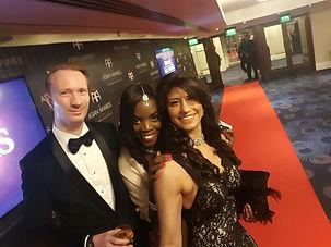 Alasdair James Dodds atthe Annal Asian Awards