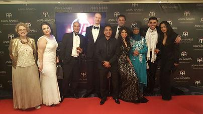 Alsdair James Dodds at teh Annual asian awards