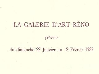 Il y a 28 ans - Exposition Puyuelo à la galerie Réno de Montpellier -