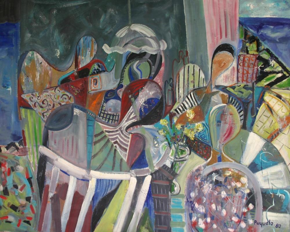 Vue de l'atelier - 1980 - Puyuelo