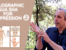 Treat Depression with Holographic Gua sha Part 2
