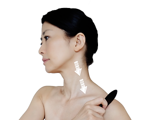 Neck sequence Gua Sha Guide Clive Witham