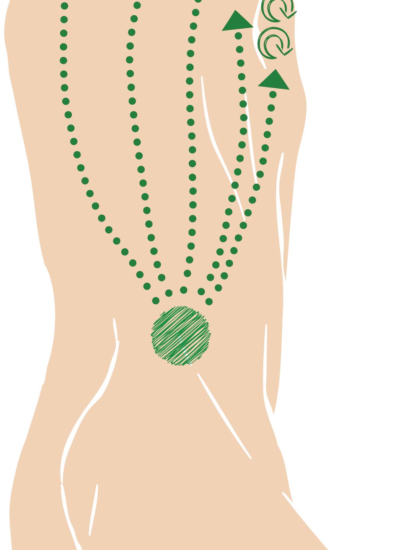 Foot Massage acupressure clivewitham
