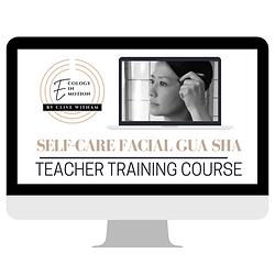 Gua sha self-care teacher training cours