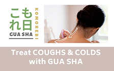 Gua sha Coughs and colds course