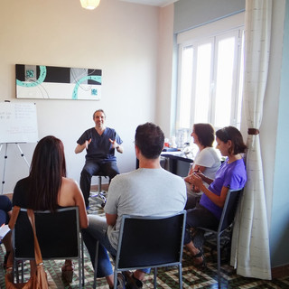 Clive Witham Gua sha workshop