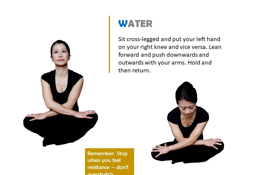 Stretches to rebalance your body