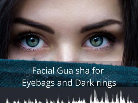 Facial Gua sha for Eyebags and Dark rings