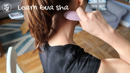 Gua sha Clive Witham Colds neck