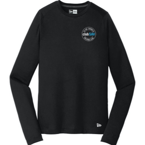 New Era Performance Long Sleeve Tee