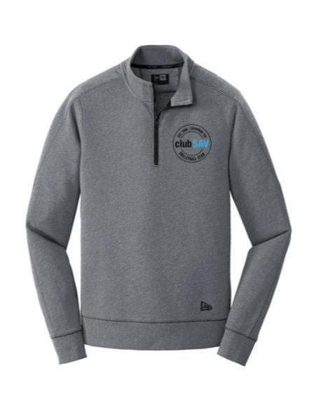 Tri-Blend Fleece 1/4-Zip Pullover w/ Circle Logo